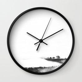 Minimal Mountain Wall Clock