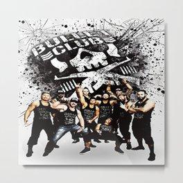 Bullet Club 4 Metal Print
