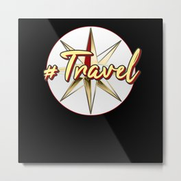 Travel Gift Metal Print