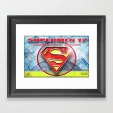 Supermen 12 The Lifting of the veil Framed Art Print