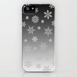 Snow Flurries iPhone Case