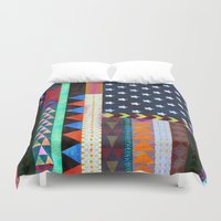 boho Duvet Covers featuring Boho America by Schatzi Brown