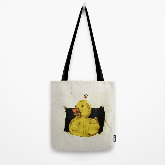 Rubber Ducking Tote Bag