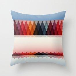 Summer Horizons Throw Pillow