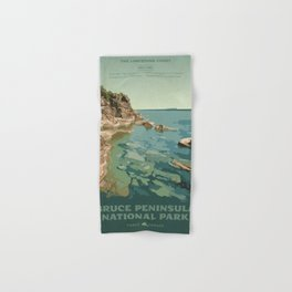 Bruce Peninsula National Park Hand & Bath Towel
