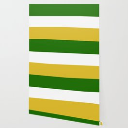 TEAM COLORS 8.....Green , gold and white Wallpaper