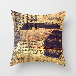 from another point of view Throw Pillow