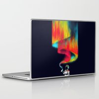 astronomy Laptop & iPad Skins featuring Space vandal by Picomodi