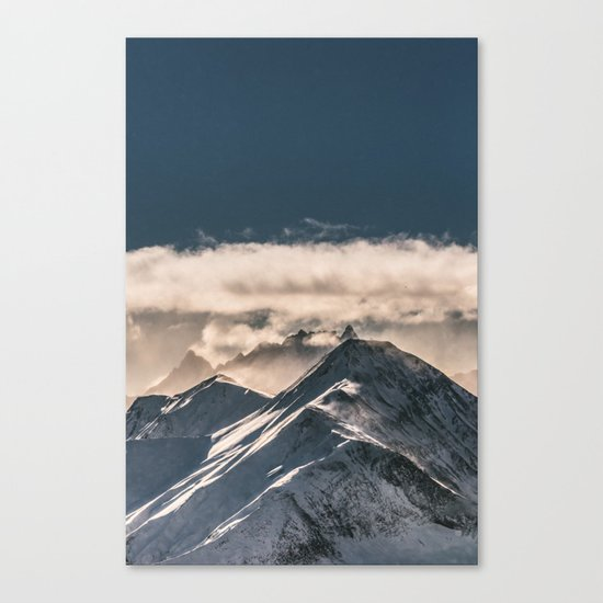 Mountains II #landscape photography Canvas Print