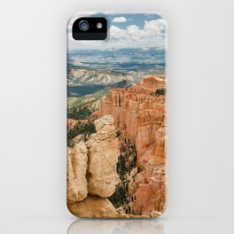 Rainbow Point at Bryce Canyon National Park iPhone Case