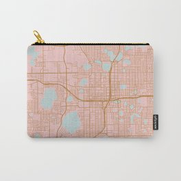 Orlando map, Florida Carry-All Pouch