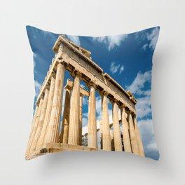 Parthenon Greece Throw Pillow