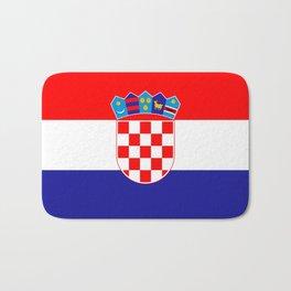 Flag of Croatia Bath Mat