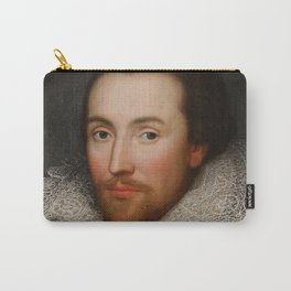 Vintage William Shakespeare Portrait Carry-All Pouch