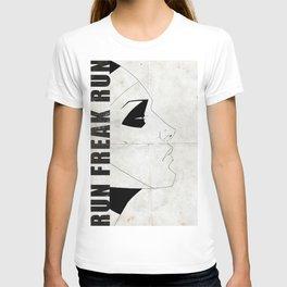 Run Freak Run - White T-shirt