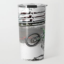 Making a Stand - Freestyle Motocross Rider Travel Mug