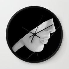 Veiled Wall Clock