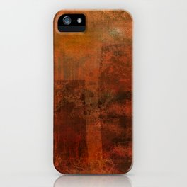 Organic rust iPhone Case