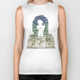 Bjork Human Behaviour  Biker Tank