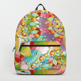Bijoux Geometric Backpack