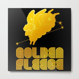ARIES/GOLDEN FLEECE LOGO Metal Print