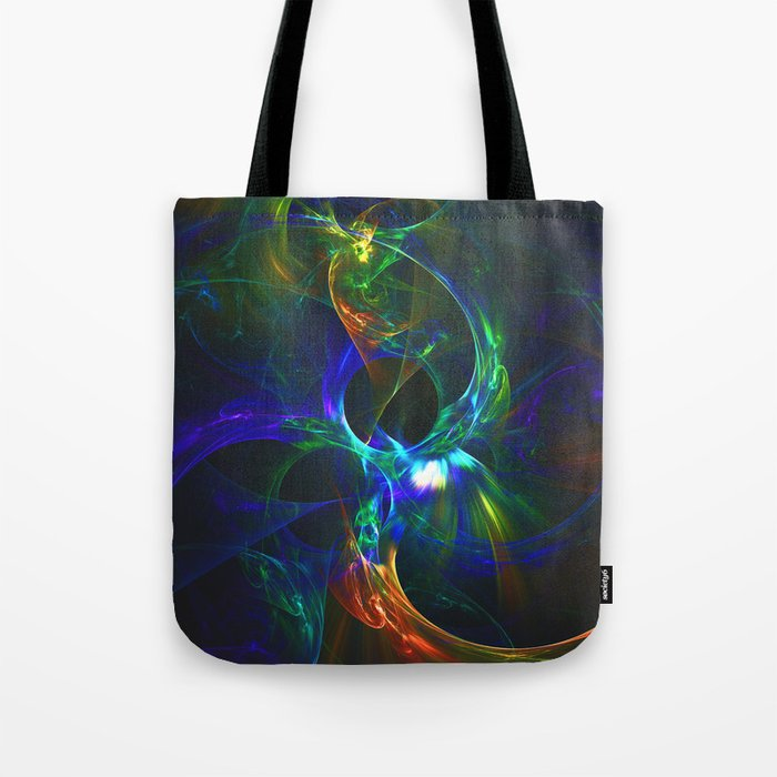 Abstraction. Solar eclipses. Tote Bag