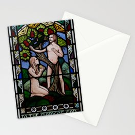 Adam and Eve Stationery Cards