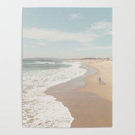 California Beach Poster