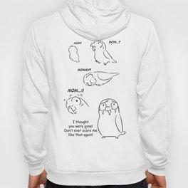 Separation anxiety on pet birds (Mom version) Hoody