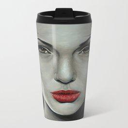 Angelina Jolie Metal Travel Mug