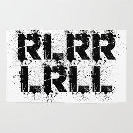 RLRRLRLL Drummer Paradiddle Drums Drumsticks Gift Rug