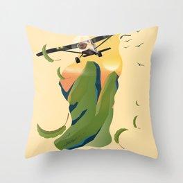 Blue Mountains New South Wales Australia Throw Pillow