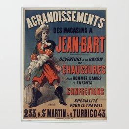 Old Sign / Jean Bart Poster