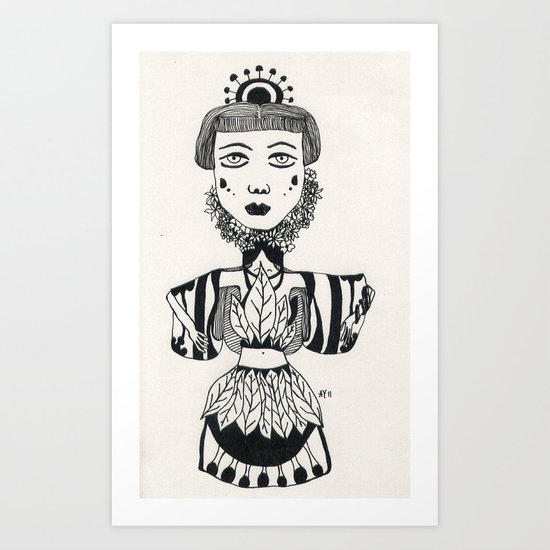 nt 011 Art Print
