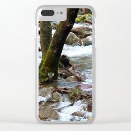 Yosemite Spring Runoff Clear iPhone Case