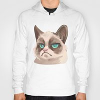 grumpy Hoodies featuring Grumpy by Corelle_Vairel