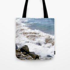 The Rocky Shores of San Pedro Tote Bag