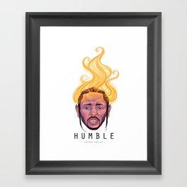 Humble - Kendrick Lamar Framed Art Print