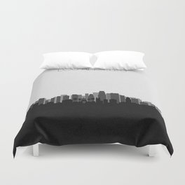City Skylines: Los Angeles (Alternative) Duvet Cover