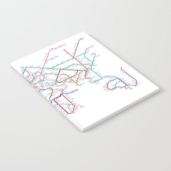 World Metro Subway Map by artpause