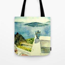 Greek Memories No. 9 Tote Bag