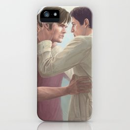 Nothing is worth losing you. iPhone Case
