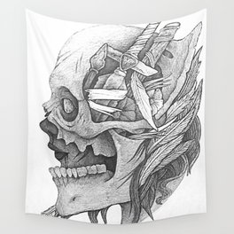 Goddess Of War Wall Tapestry