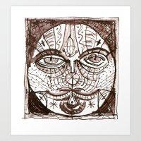 patchwork 06 Art Print