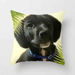 Puppy Chico Throw Pillow