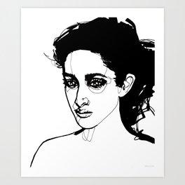 Past Tense Art Print