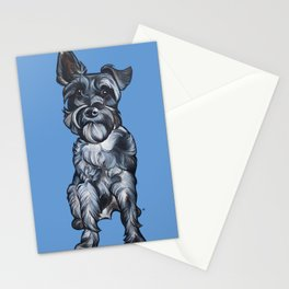 Rupert the Miniature Schnauzer Stationery Cards