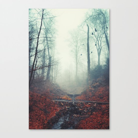 Misty March Morning Canvas Print