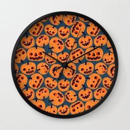 pumpkin guys Wall Clock