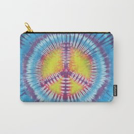 Peace Tie Dye Carry-All Pouch
